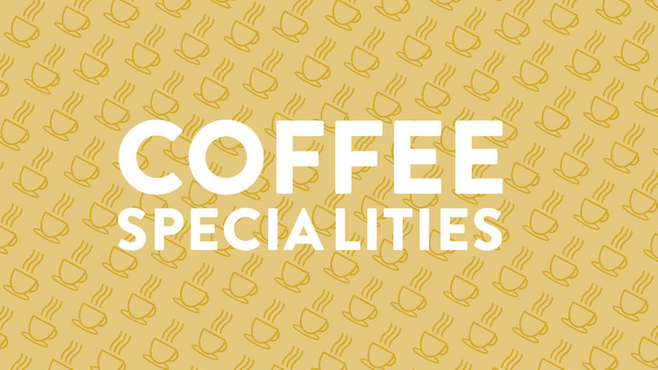 Coffee specialities