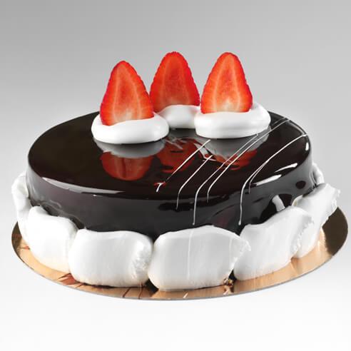 Glassa al cioccolato per torte e semifreddi lucida con - Decorazioni torte con glassa ...